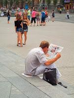 Чтение прессы