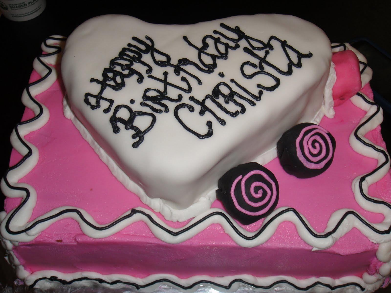 Alliecakes Happy Birthday Christa