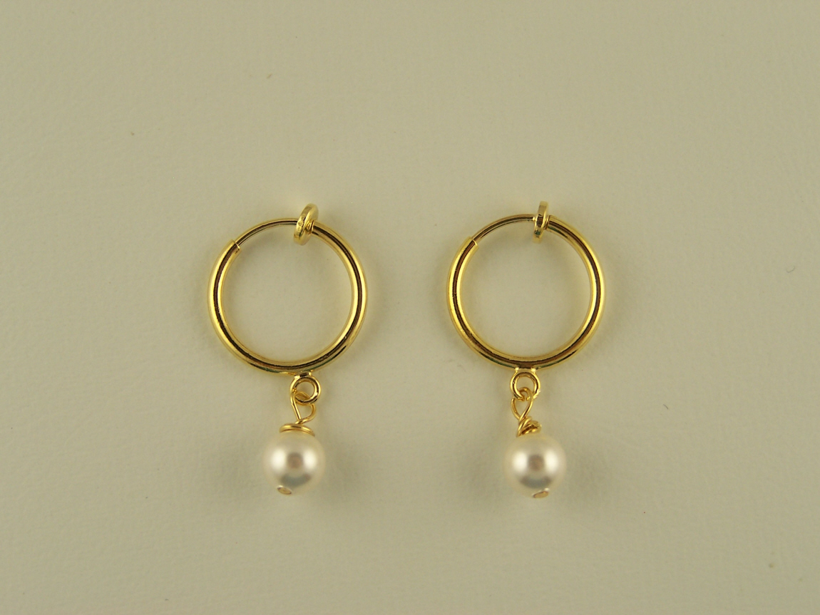 The Clip On Earring Store Stylist: Non Pierced Hoop Clip ...