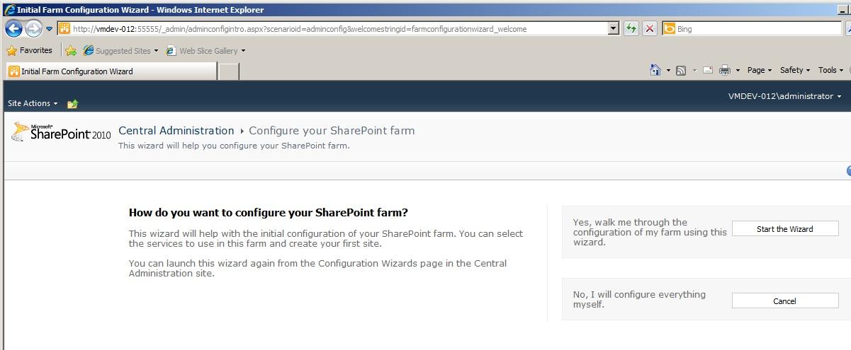 Sharepoint2010rtm 03 sharepointinstallation053sharepoint2010