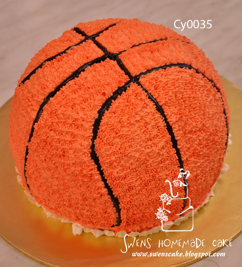 How To Make A Basketball Cake Topper