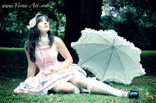 Leyla Lolita in the park
