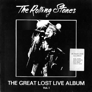 Rolling Stones 1972 Quot The Great Lost Live Album Vol 1