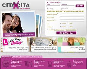 Portal de ciatas online CitaxCita