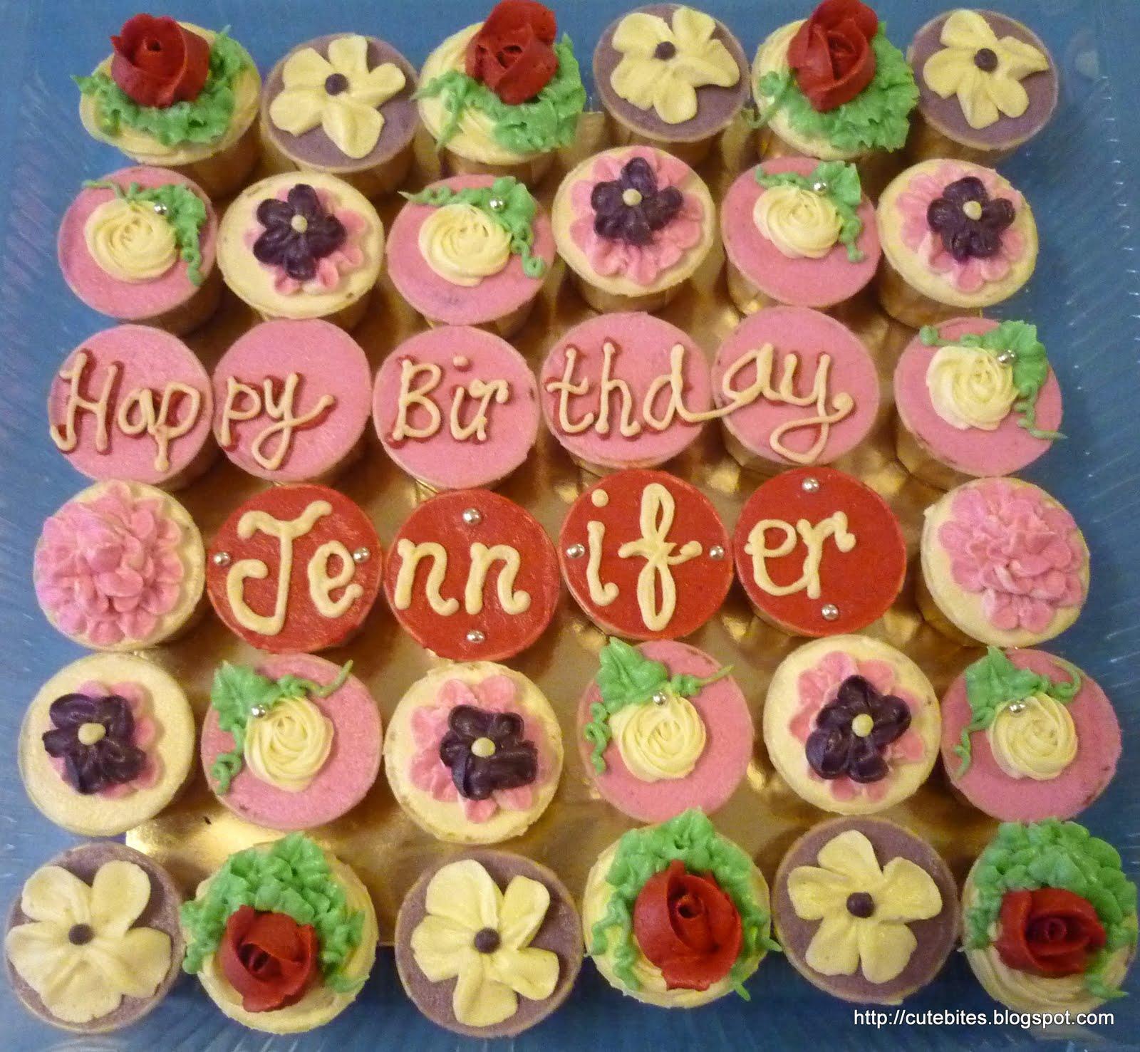 Too Cute To Resist....: :: Happy Birthday Jennifer