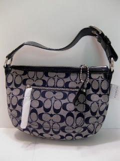 Pay Less For Luxury: Coach Soho Signature Hobo Bag Serial ...
