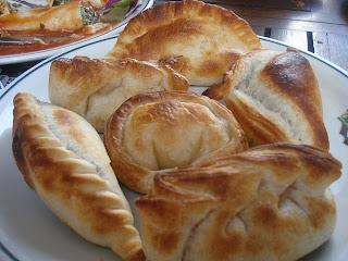 Receta para 5 docenas de empanadas