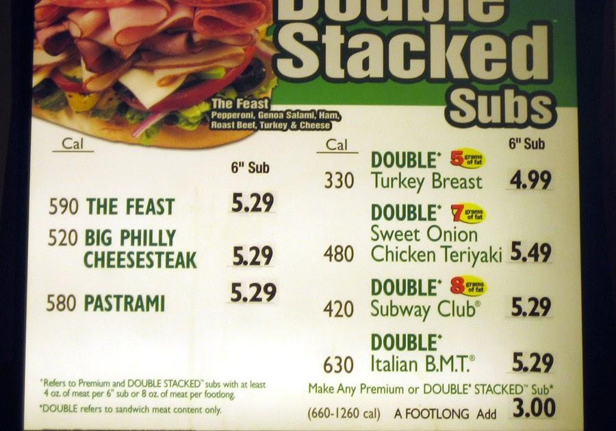 Photoaltan26 Subway Menu Prices Us