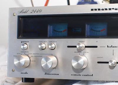 HiFi Collector: Rear Channel Amplifier - Marantz 2440