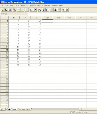 January 2010 labcoms page 10 ehini hanya contoh ya disarankan untuk tidak menggunakan regresi linear dengan 16 data saja he he mau buat banyak banyak capek nah kalau mau liat ccuart Gallery