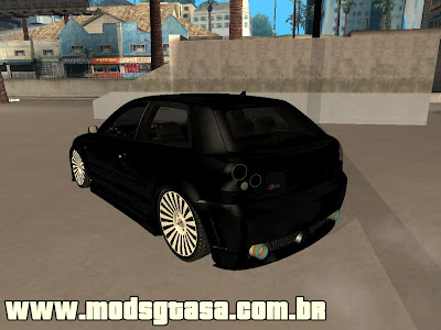 Audi S3 Tuning Edit para GTA San Andreas