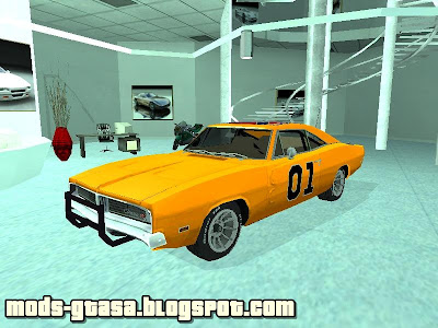 Dodge General Lee para GTA San Andreas