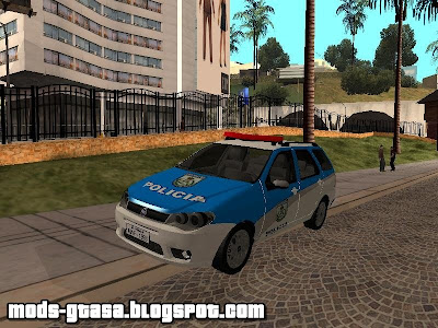 Fiat Weekend Policia Militar do RJ para GTA San Andreas