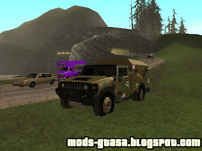 Hummer do Exercito para GTA San Andreas