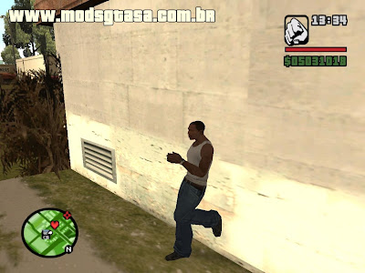 Animations Mod V2.0 para GTA San Andreas