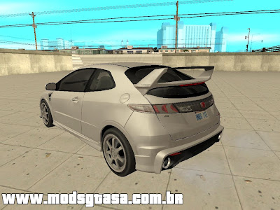 Honda Civic Type R Mugen 2009 para GTA San Andreas