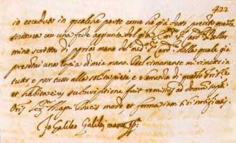 abjuración de Galileo
