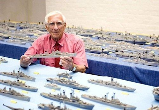 Flota de barcos con cerillas