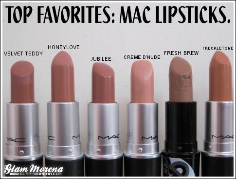 glam morena top favorites mac lipsticks. Black Bedroom Furniture Sets. Home Design Ideas