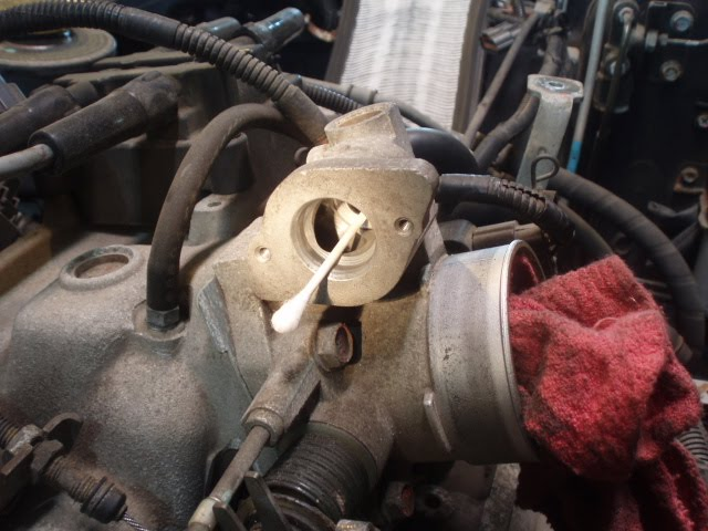 the Greasy Mouse: Idle Air Control Valve Fix on