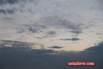 Cerita Tentang Awan Ustaz Love Menulis