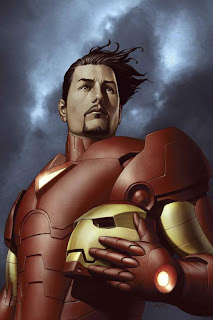 Review Iron Man Extremis Warren Ellis Adi Granov Splash Page Tom Cruise Tony Stark Helmet Marvel Cover Premiere Hardcover hc comic book