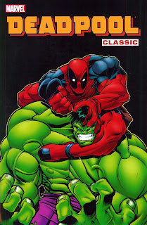 Review Deadpool Classic Volume Two Joe Kelly Ed McGuinness Hulk Marvel Cover trade paperback tpb comic book