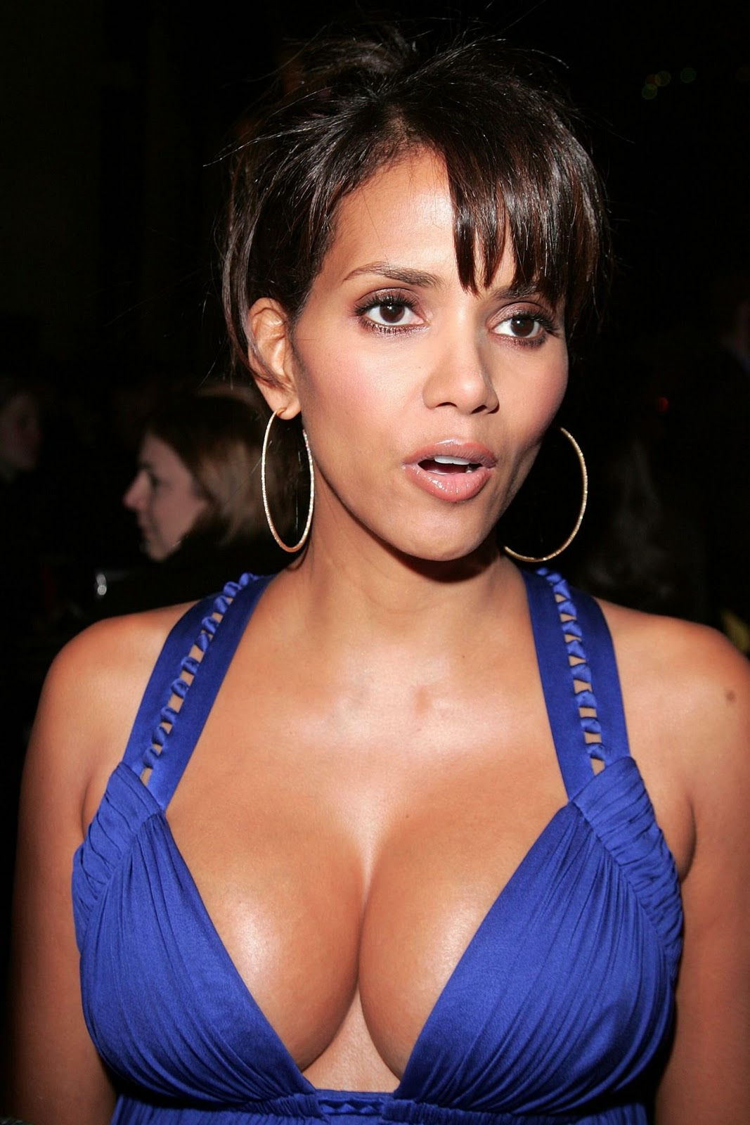 halle berry tits