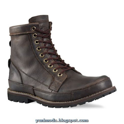 Timberland Earth Keeper Boots Dark Brown 15550.