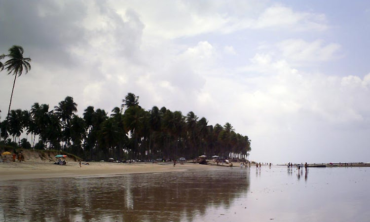 Blogueiro também vai à praia
