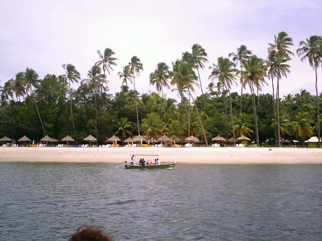 Barracas na Praia dos Carneiros