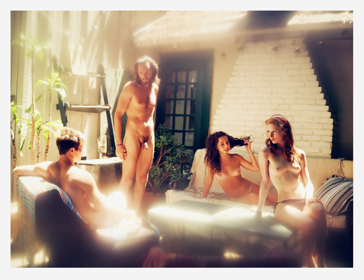 Alex chance naked