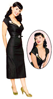 pinup pencil dress