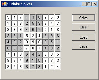 Allan on Technology: Solving Sudokus as CSP with Forward