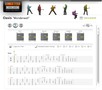 Songsterr: More new features: Chord Boxes, Guitar Tuning