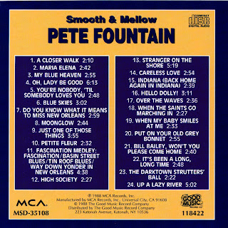 Dixieland Jazz Pete Fountain Discography Smooth And