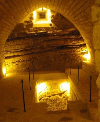 >La luz del solsticio sobre la Sinagoga del Agua
