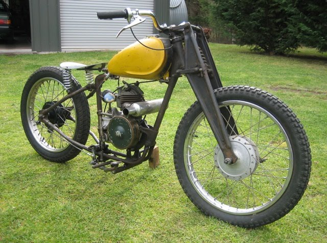 Trojan Classic Motorcycles The Lawn Mower Man