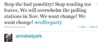 Coffee Party Founder Is Obama Campaign Operative Annabel+Park+ +Twitter++++++