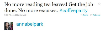 Coffee Party Founder Is Obama Campaign Operative Annabel+Park+ +Twitter++++