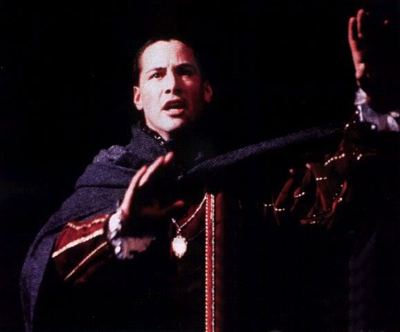 Keanu Reeves Sui Generis : A Moment Of Shakespeare