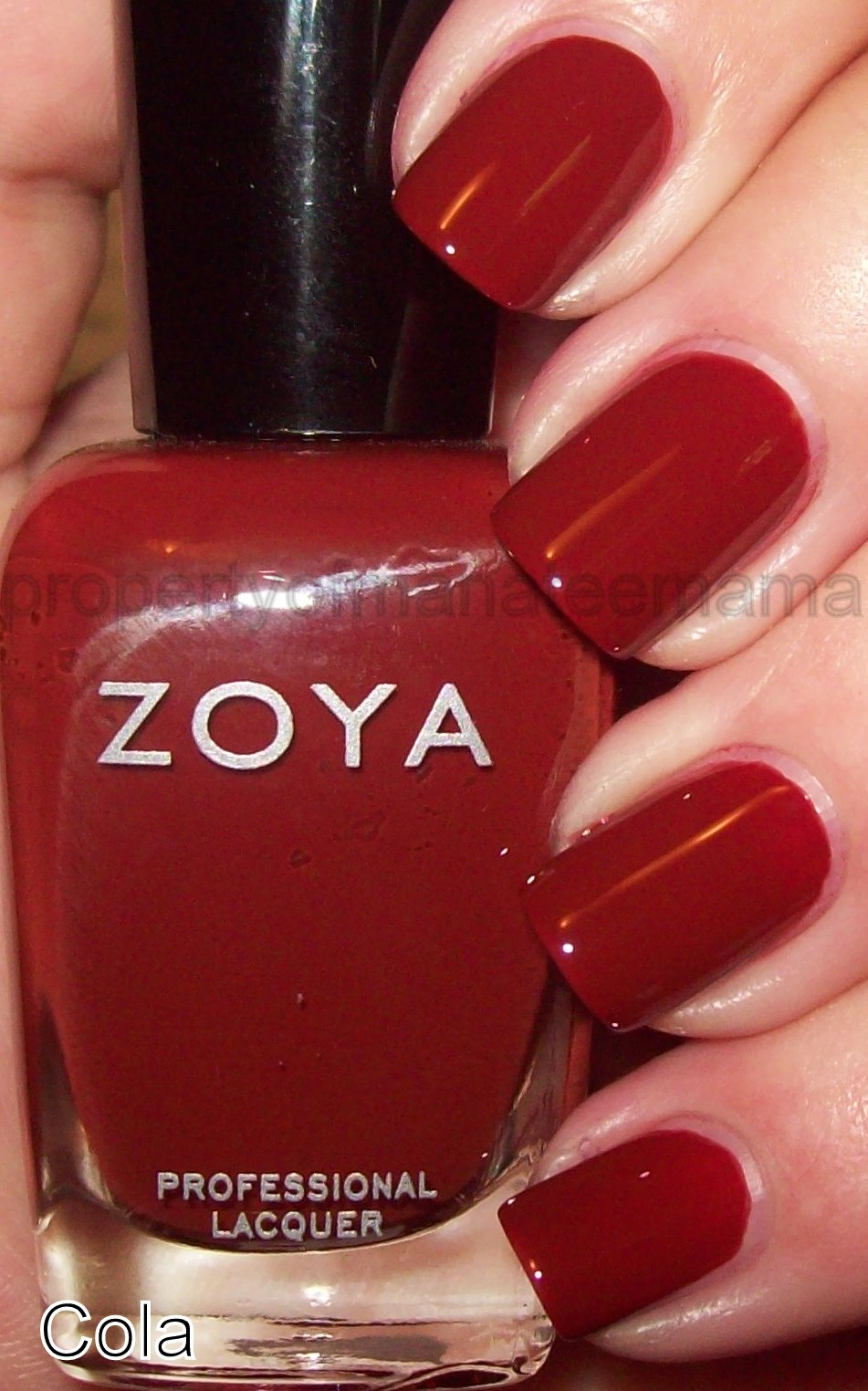 Holy bright RED batman  I am  so glad  Zoya made this color  They were    Zoya Flowie