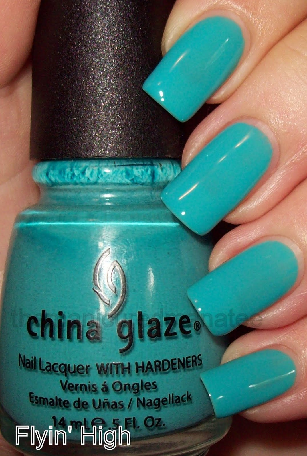 China Glaze Presenta Crakle Glaze: The Manicured Manatee: China Glaze Up & Away