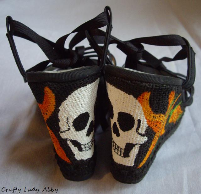 Skull Leather Shoes