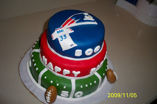 Quot Grace Of Cakes Quot New England Patriots Cake