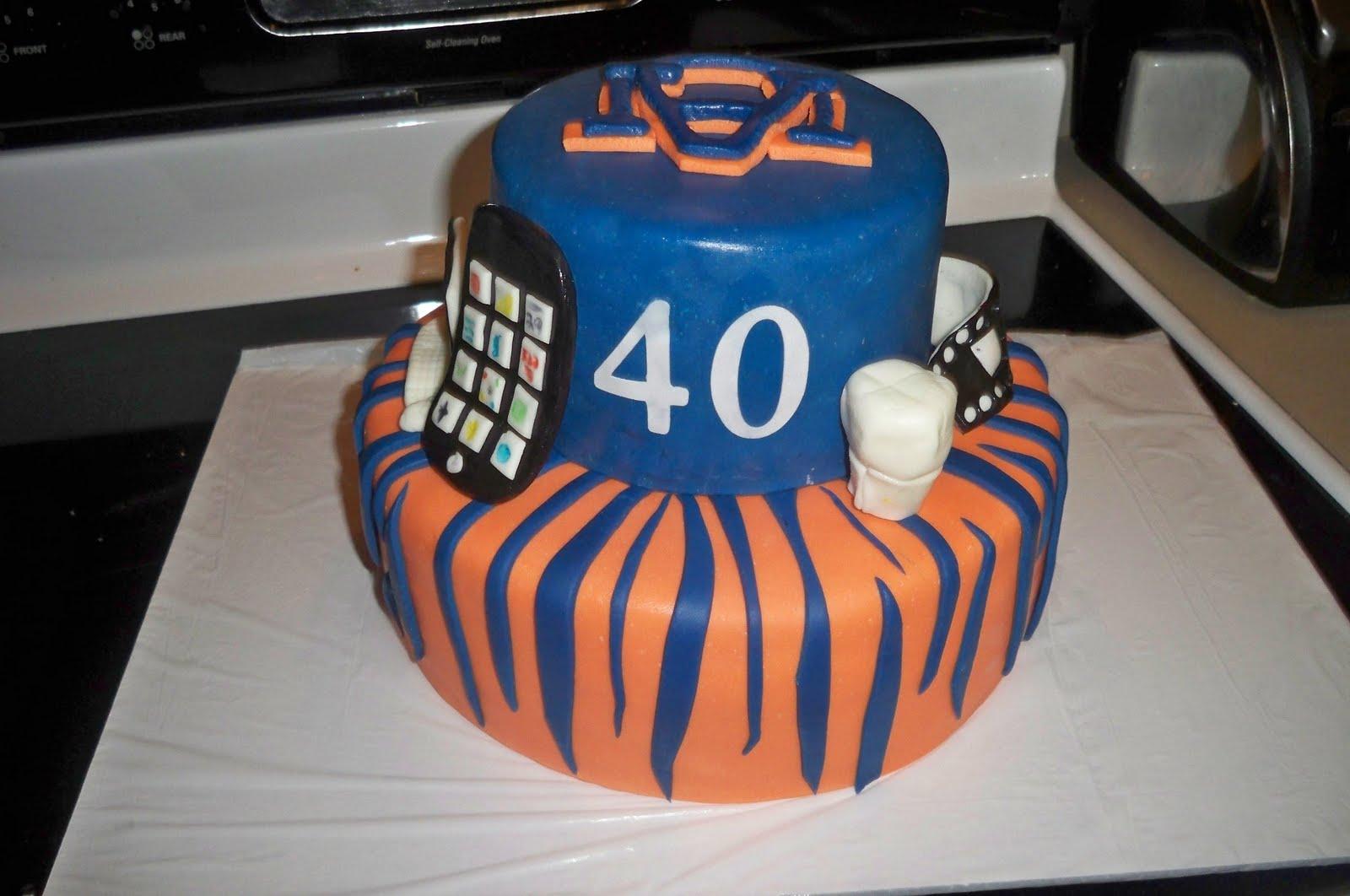Quot Grace Of Cakes Quot Auburn Tigers Cake