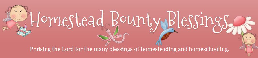 Homestead Bounty Blessings