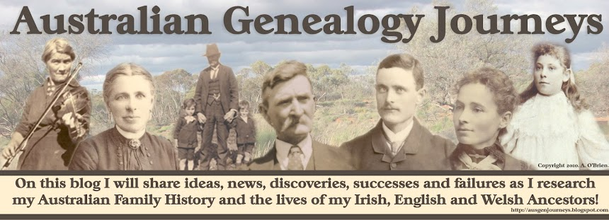 Australian Genealogy Journeys