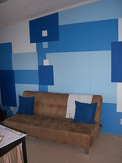Crazy Office Accent Wall