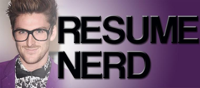 resume nerd